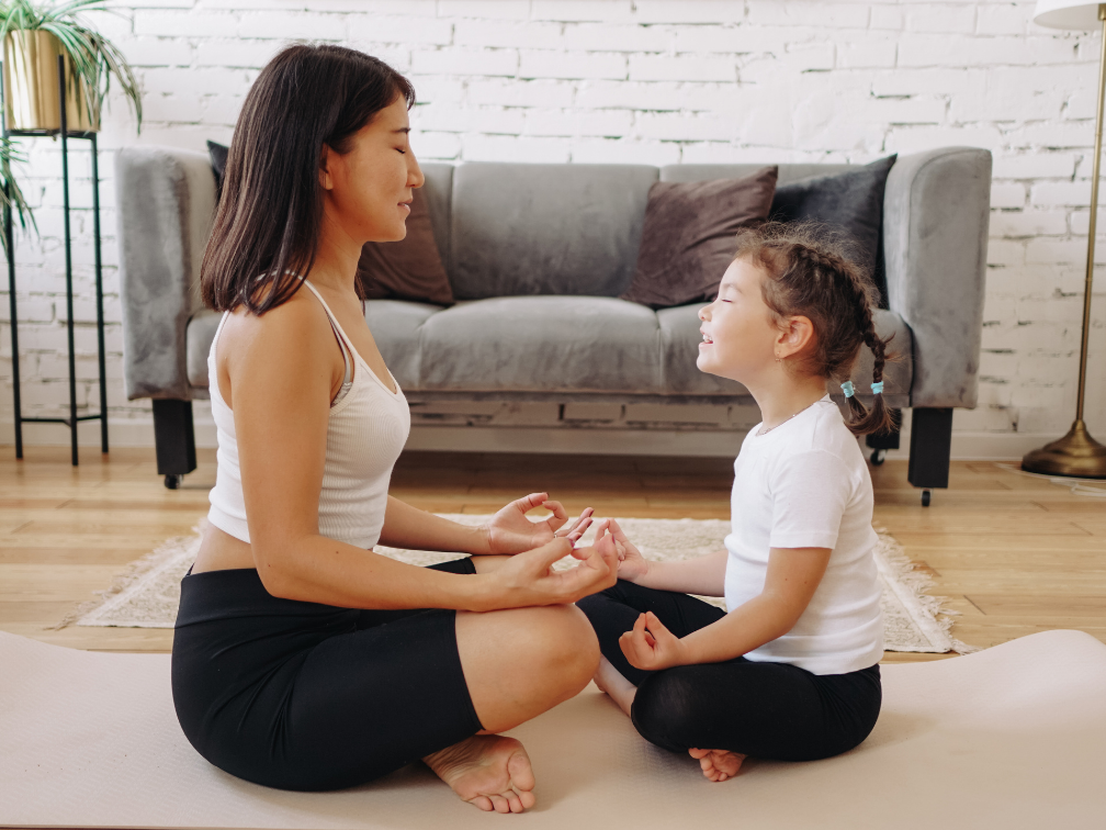 meditation for mental health mom and child